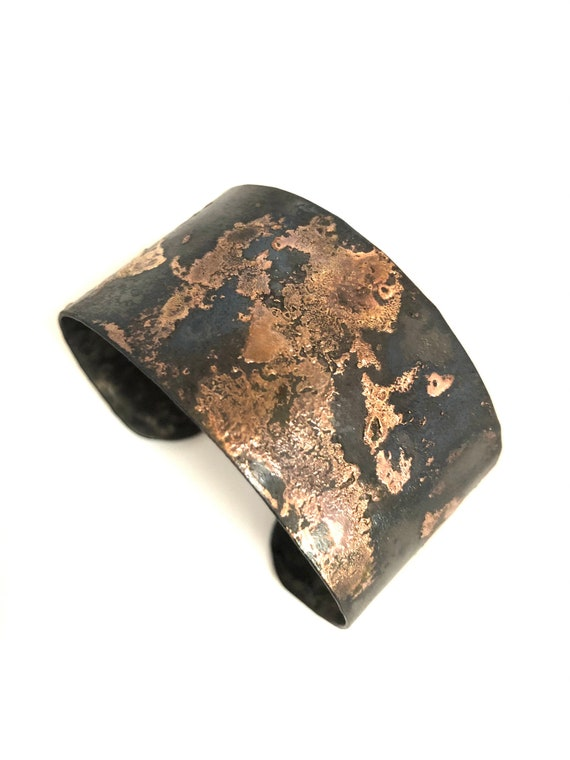 Steel & Metal Powder Cuff Bracelet