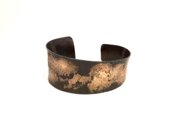 Steel & Metal Clay Anti-Clastic Cuff Bracelet