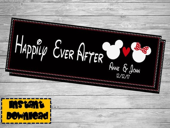 Disney Wedding Mickey Mouse Wedding Minnie Mouse Wedding | Etsy