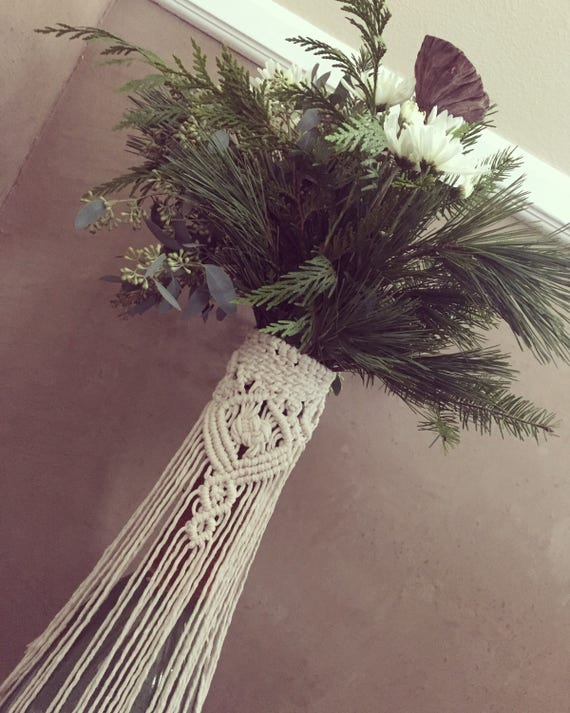 Wedding Boutonni\u00e8re Macrame Boutonni\u00e8re Wrap Floral Wrap