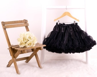 Girls Black Magic Fluffy Pettiskirt Tutu/Tutu/Birthday Gift/ Dancing/Special Occasion/Party Outfit/Gift for Girl/Christmas