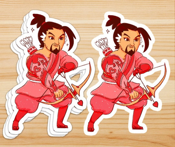 I/'m a Sucker for You Hanzo Valentines day card