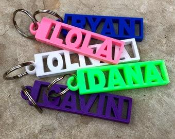 Custom name keychain  5e936a049a