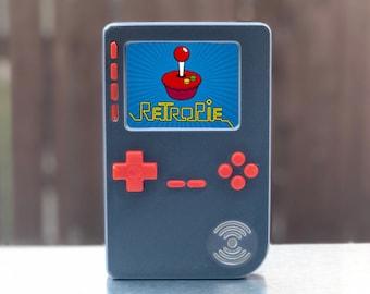 DIY PiGRRL 2 Raspberry Pi RetroPie GameBoy Project Case Kit + Buttons + Screws, DIY Gameboy Case, Gift for Him