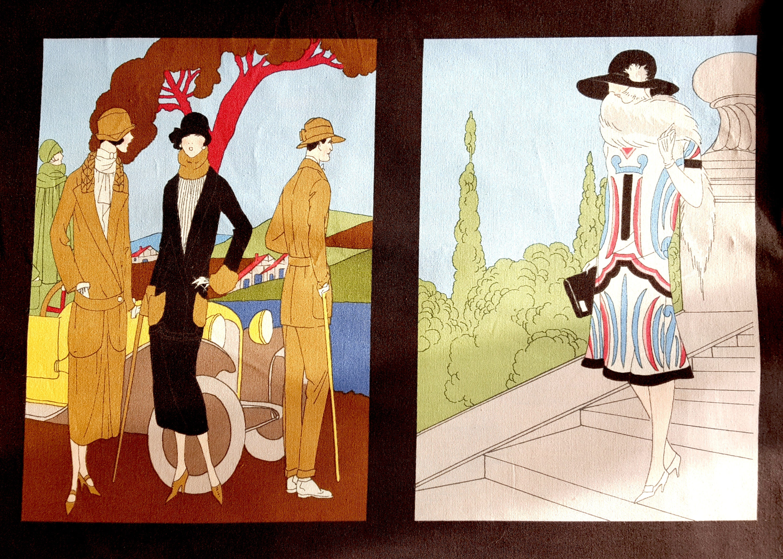 Robert Kaufman Glamour Girls Fabric Flapper Girls Fabric | Etsy