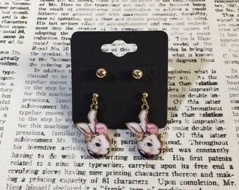 Frolic Bunny Earrings