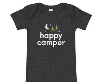 Happy Camper | Baby Bodysuit