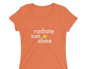 Radiate Sunshine | Ladies' t-shirt