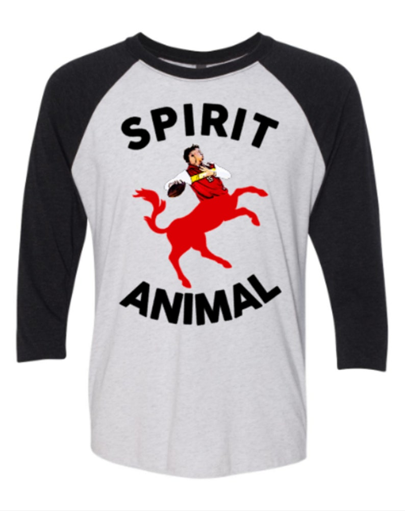 size 40 4b100 474ea patrick mahomes shirt, mahomes shirt, Kansas City Chiefs, KC chiefs, spirit  animal mahomes, mahomes raglan, chiefs raglan, funny chiefs