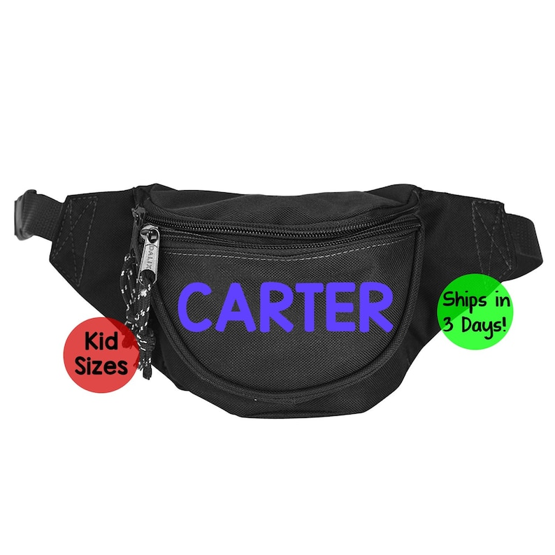 079833c27cb personalized kids fanny pack - hip bag - gift for kids