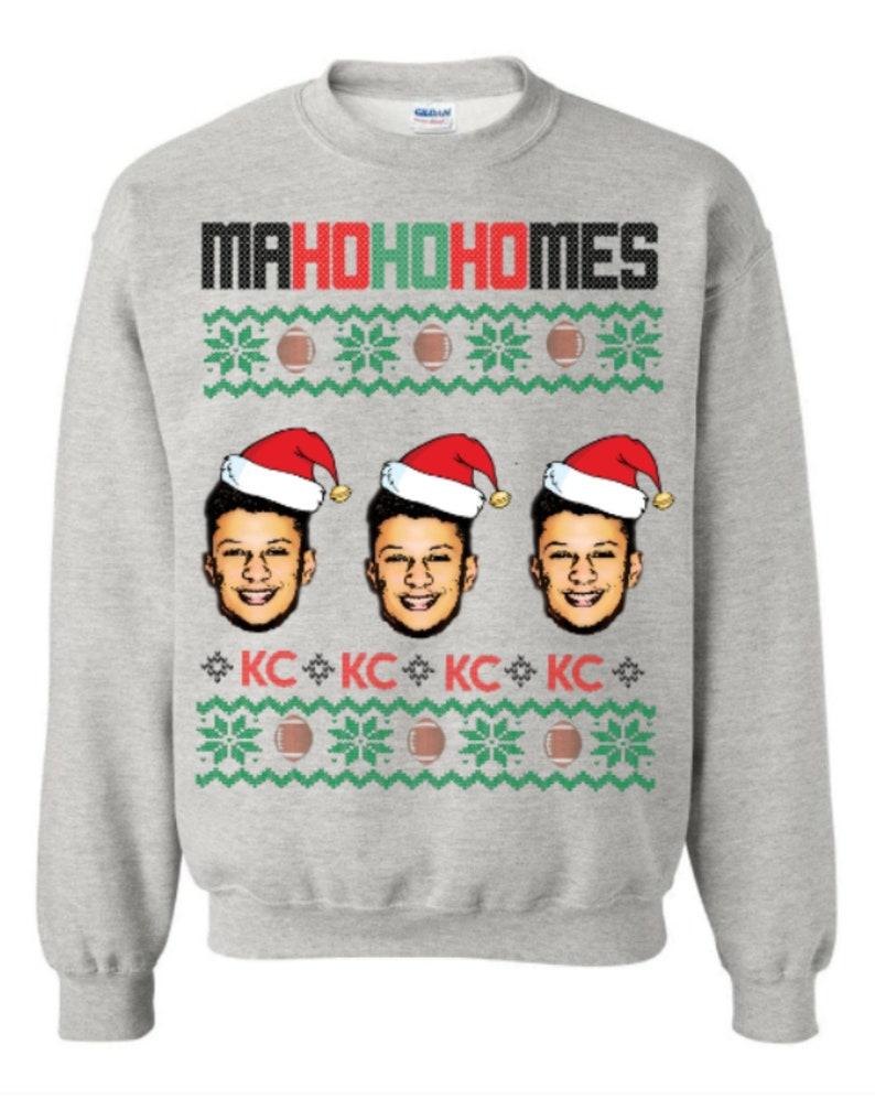 Patrick mahomes sweater chiefs sweater tacky christmas  387341509