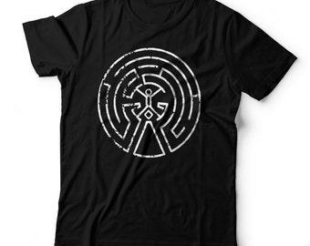 WestWorld Maze Map Mens Shirt