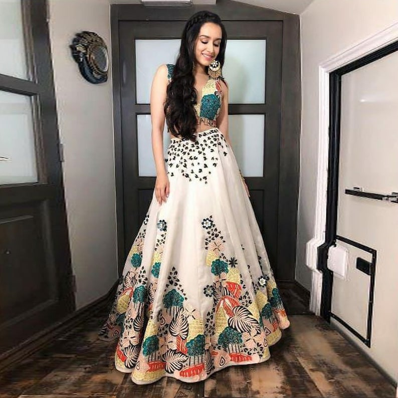 Lehenga Choli Indian Designer Pakistani Wedding Ethnic Wear Party Lehnga Blouse Other Women's Clothing
