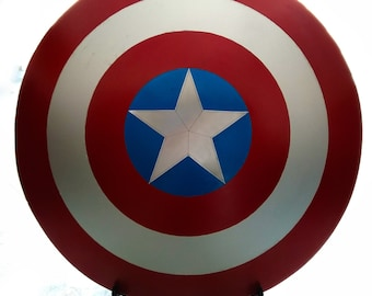 Marvel Cosplay Captain America Shield 24'' Prop Replica