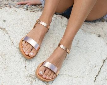 c5b14e6a7c8ab9 Leather sandals women