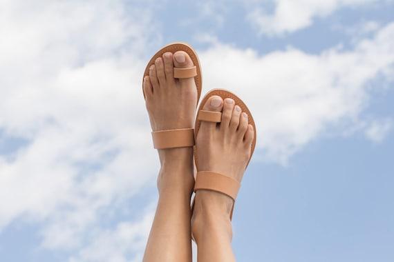Women Classic sandals Handmade sandals sandals Women RHEA Toe Greek sandals sandals Leather ring Women sandals shoes g1pxwgrqz
