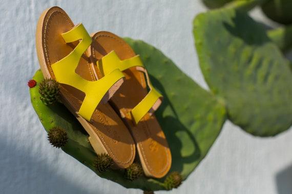 en sandales sandales Grekk ancienne cuir Sandales fdqw4BS4