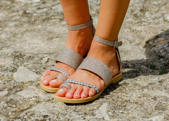 Greek Leather sandals Ankle strap sandalsHandmade women shoes Summer sandals Ancient Greek Wedding sandals Bridal sandals HERA