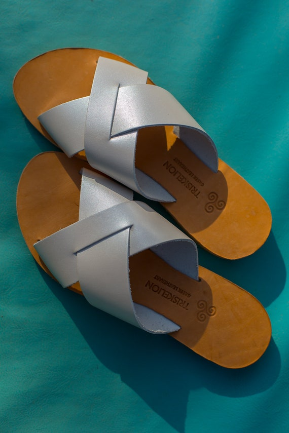 Ancient sandals sandals Triskelion Greek sandals IOLE sandals greek Elegant Women's Leather 4IwqE