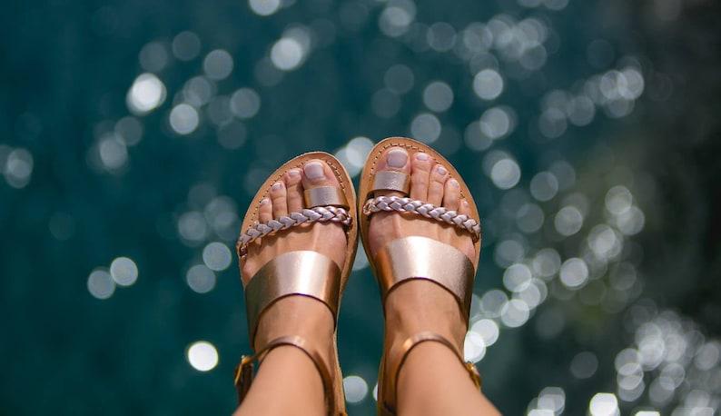 Sandals women/ Ancient Greek sandals