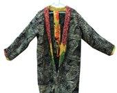 Women 39 s Kantha Jacket,Unique Reversible, Boho Wear, Kantha Coat, Handmade, Vintage Coat, Hand Quilted Jacket, Festival Fashion,Medium GJ47