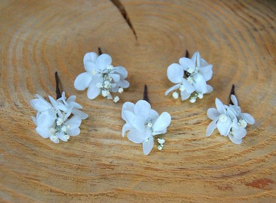 Echte Blume Haar Drahte Floralen Drahte Haarnadeln Etsy
