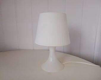 Ikea Kajuta Table Lamp, White, 30 cm