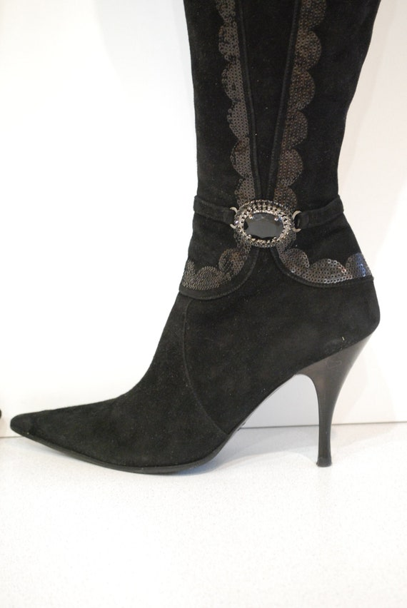 Damen Vintage Stiefel