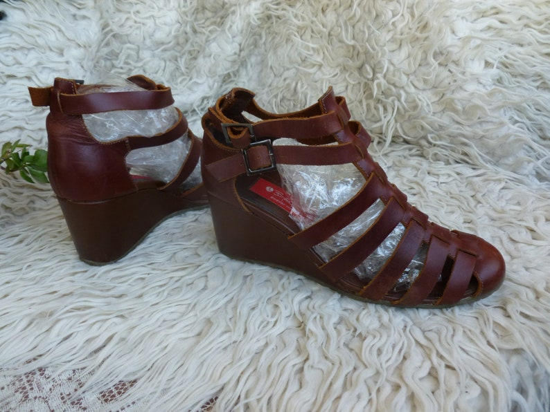 ceb19ae46 Womens Sandals Björn Borg SWEDISH SPORT brown leather