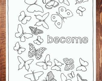 Become Coloring Page