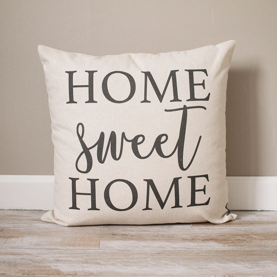 Home Sweet Home Pillow Rustic Decor Home Decor Rustic