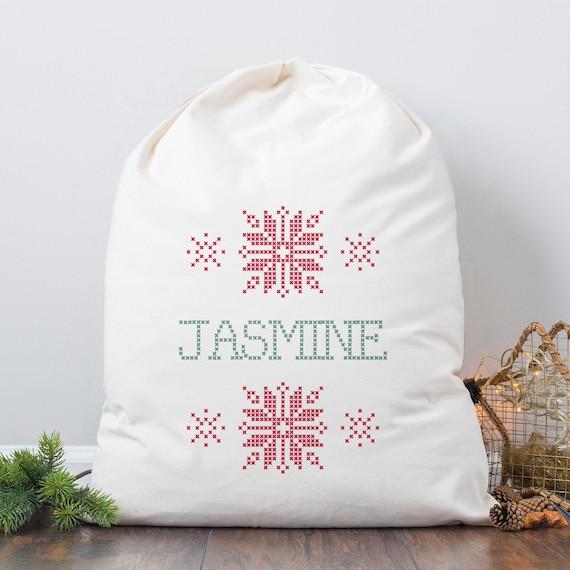 Personalised Cross Stitch Bag