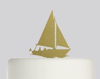 Sailing Cake Topper