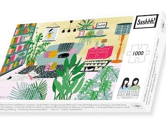 Ssshhh! 1000 Piece Jigsaw Puzzle