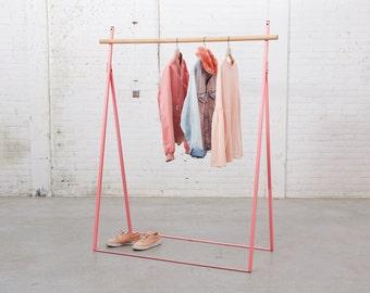 Clothing Rack Pink Yaco Studio