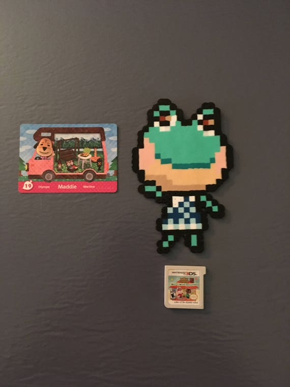 Animal Crossing New Leaf Custom Villager Pixel Perler Bead Etsy