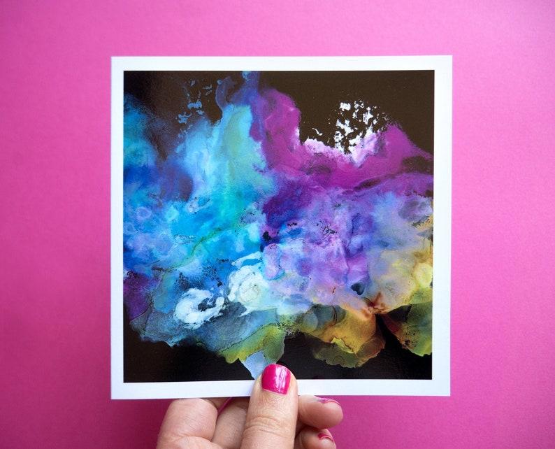 Black Rainbow LGBT Wedding Card Rainbow Wedding Card image 0