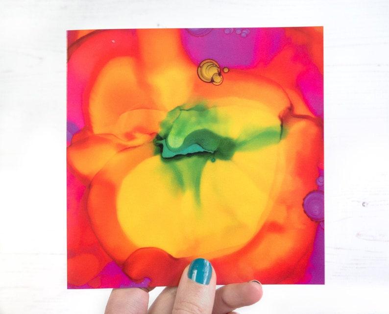 Rainbow Card Blank Greeting Card Wedding Pride LGBT image 0