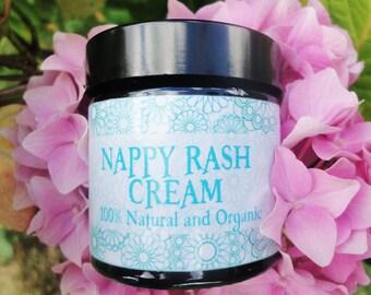 Nappy Rash Baby Cream - 100% Natural and Organic - Diaper cream - Baby Rash Cream