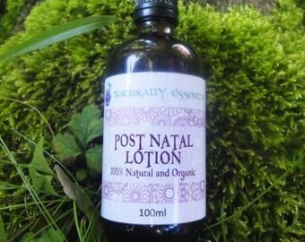 Post Natal Lotion - Perineum Lotion - 100% Natural and Organic - New Mum gift