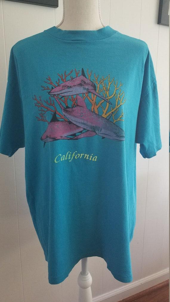 Vintage Tshirt California Sharks