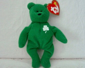 50744f42790 Vintage 1993 ERIN THE BEAR Ty Teenie Beanie Baby - McDonald Promotion New  With Tags