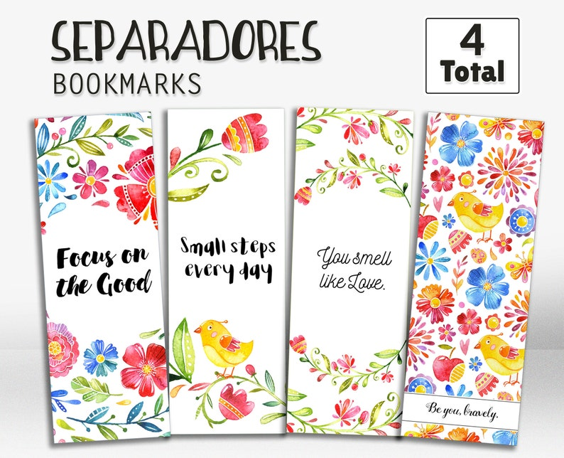 picture relating to Printable Book Marks known as Bookmarks in just spanish, printable bookmarks, bookmarks with estimates, en español, inside of spanish, printables, lovely bookmarks, reward Programs, preset of