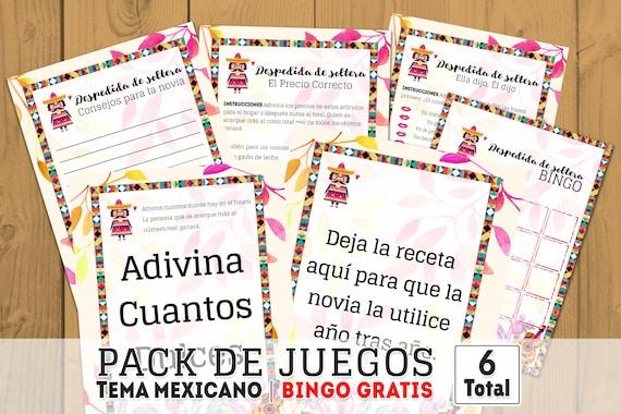 Fiesta Mexicana Despedida De Soltera Mexican Party Mexican Etsy