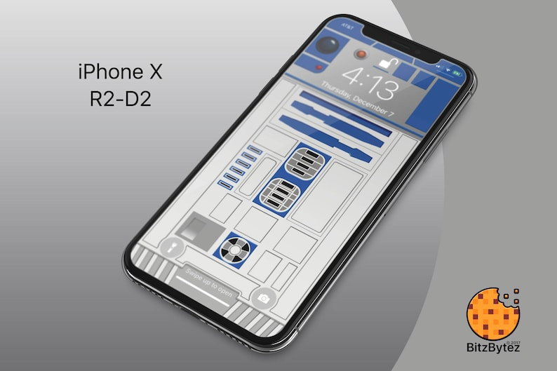 R2 D2 Starwars Iphone X Xs Max Background Wallpaper Mobile Etsy
