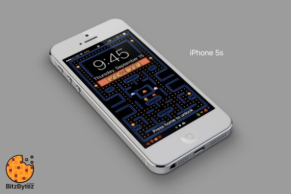 Pac Man Iphone 5678 Background Wallpaper Mobile Cell Phone Personalized Lockscreen Background Ringtone