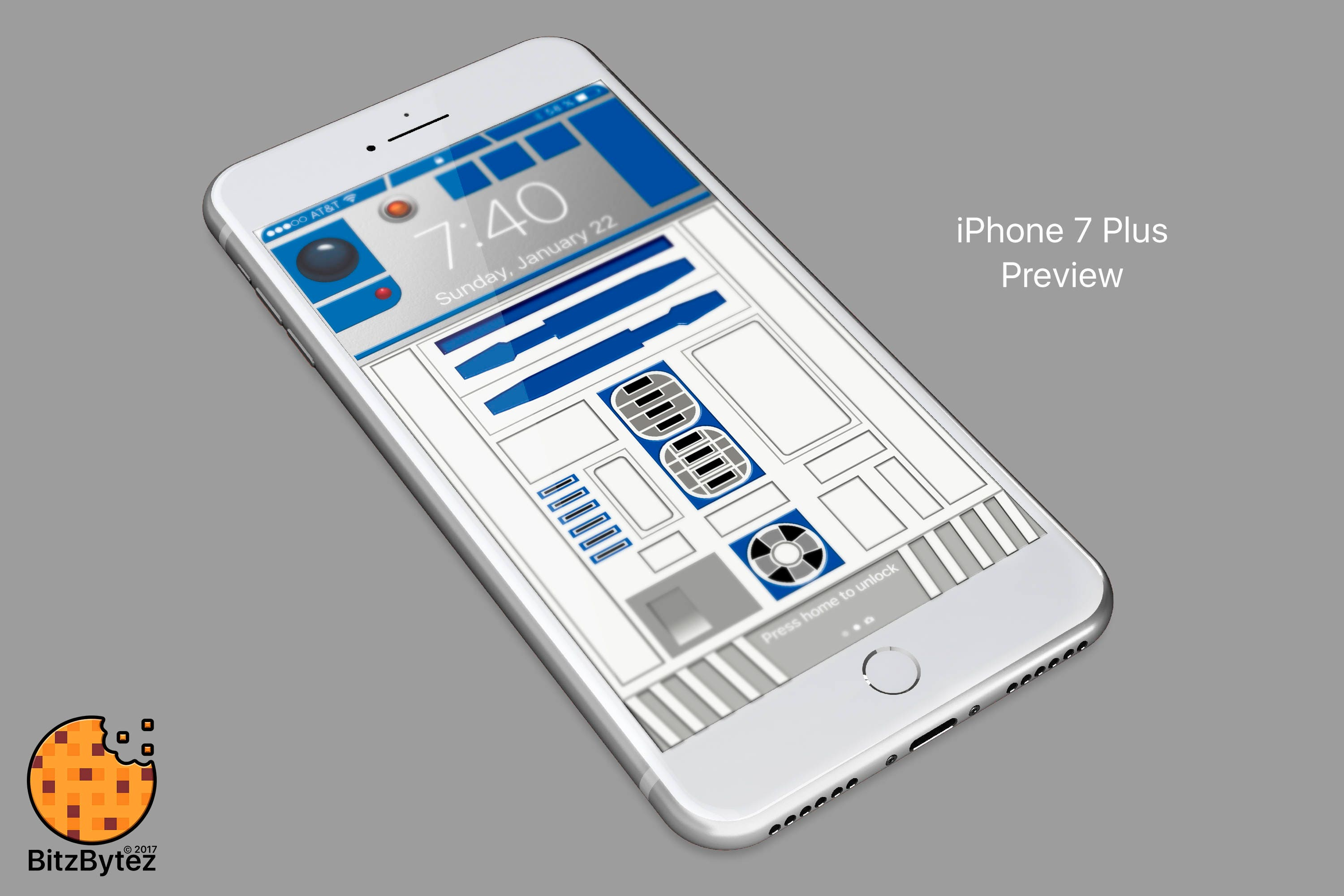 R2 D2 Starwars Iphone 5678 Background Wallpaper Mobile Etsy