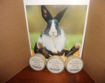 Healing Salve for Rabbits & Bunnies w/Calendula. Treatment for Sores on feet and hocks from wire cages. Treats, bites, scratches  wounds.