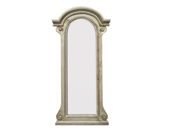 Hand Crafted Floor Mirror Arched Vintage Country Shabby Chic Large Mirror 181 x 90 cm