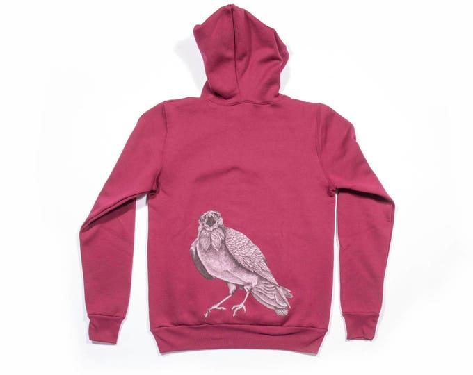 Squawking Crow Unisex Pullover Hoodie